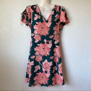 J. Crew Floral Printed Dress